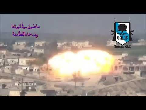 Rusia Bombardea Con Termobáricas Al Frente Al-Nusra En Lataminah – 24 Enero 2018