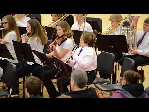 Luverne Middle School Band Concert February 7, 2020