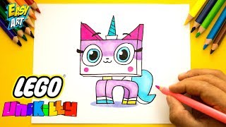 Princess unikitty LEGO TOYS -Como Dibujar unikitty - How to Draw princess Unikitty