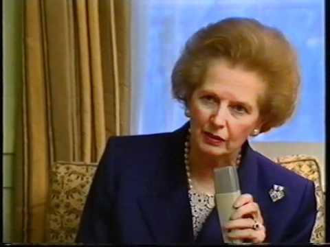 Margaret Thatcher TV Interview for HRT: urges international recognition of Croatia & Slovenia 1991
