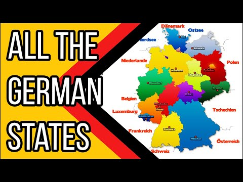 Learn German - Episode 9: The German Federal States/Die Bundesländer