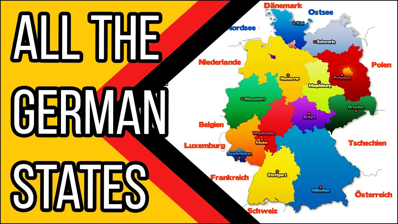learn german the german federal statesdie bundeslnder deutsch fr euch 9 youtube