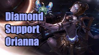 Diamond Support Orianna - No Deaths (2) [S6 Game]