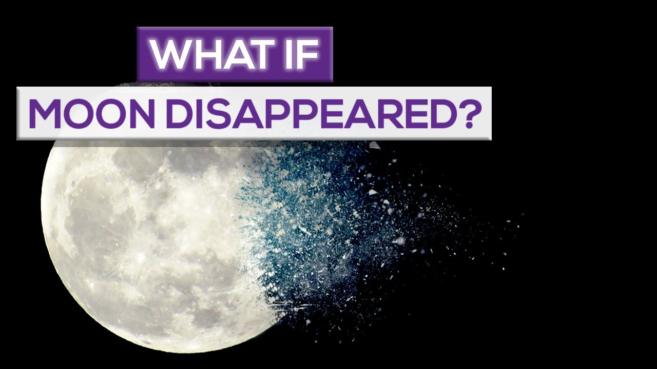 what would happen to the earth if the moon disappeared