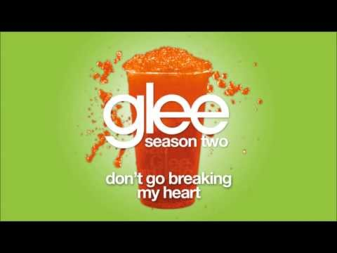 Dont Go Breaking My Heart  Glee HD FULL STUDIO