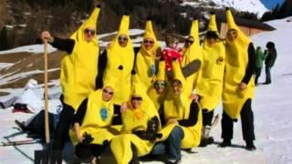 Füüdirennen Leukerbad, Bananen
