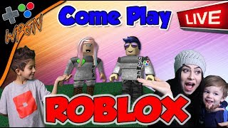 Shoutouts and Play 🔥 ROBLOX LIVE ⭐Jailbreak and More ⭐ join the WPGN FAMILY (2-21-18)