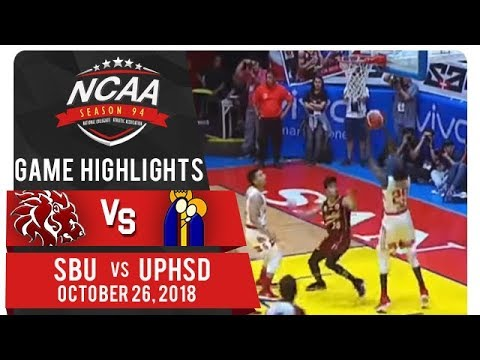 NCAA 94 MB: SBU vs. UPHSD | Game Highlights | October 26, 2018