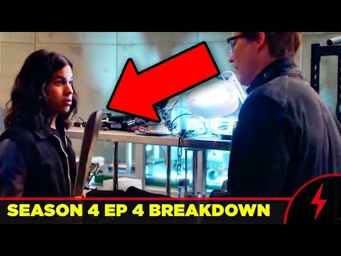 """Flash 4x04 """"Elongated Journey Into Night"""" Breakdown - WHAT YOU MISSED (EVERY EASTER EGG)"""