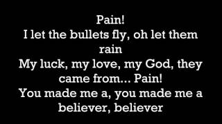 ► Imagine Dragons   Believer  LYRICS Video