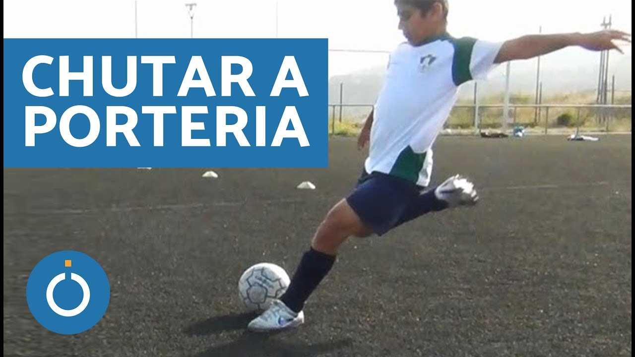 Cómo chutar a porteria en el fútbol (soccer) - YouTube a49c99441e1a3