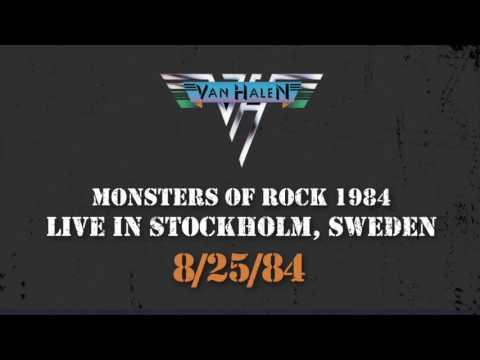 """Van Halen Live! """"Monsters of Rock"""" 1984 - Stockholm, Sweden"""