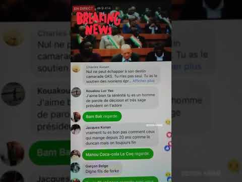 SORO Guillaume démissionne de l'assemblée nationale