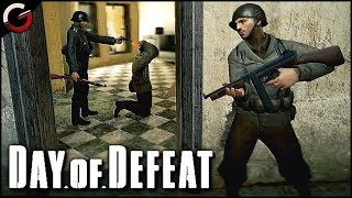 OLD SCHOOL WWII SHOOTER! Back to the Gaming Roots | Day of Defeat: Source Gameplay