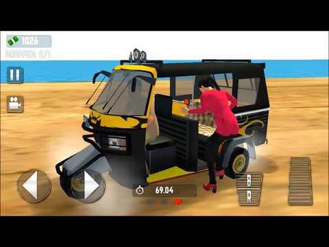 Tuk Tuk Tourist Auto Rickshaw | Auto Rickshaw game | modern Auto Rickshaw | games | kids games