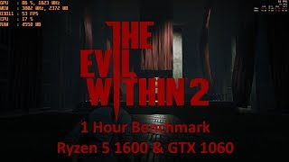 Ruby Play The Evil Within 2 : The 1 Hour Benchmark on Ryzen 5 1600 & GTX 1060 6GB Ultra Preset