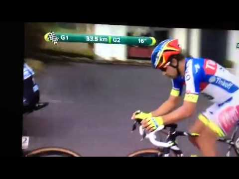E3 Harelbeke Sagan break