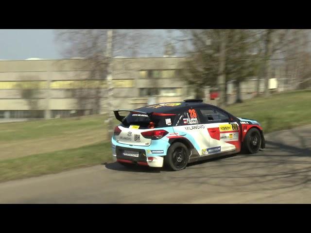 Valašská Rally 2019 - Lubiak / Borko Hyundai i20 R5