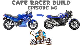 how to make a nostalgic cafe racer motorcycle from a bullet bike episode 6