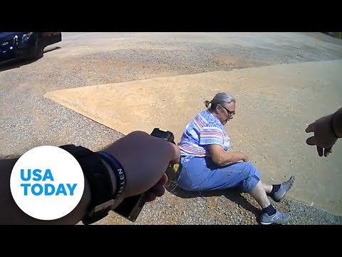 Woman Tasered For Refusing Ticket   USA TODAY