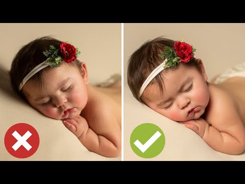Fix Your Lighting! Incorrect Vs Correct Newborn Photography Lighting