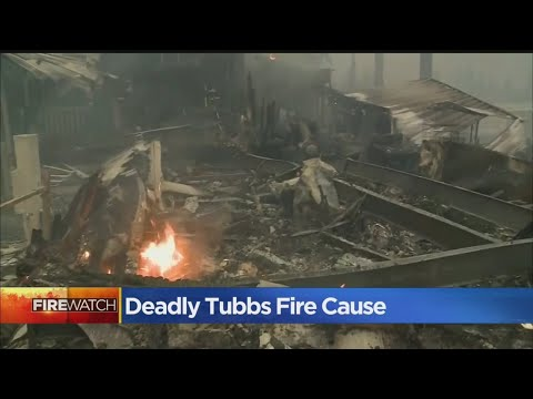 Officials Determine Cause Of Deadly Tubbs Fire