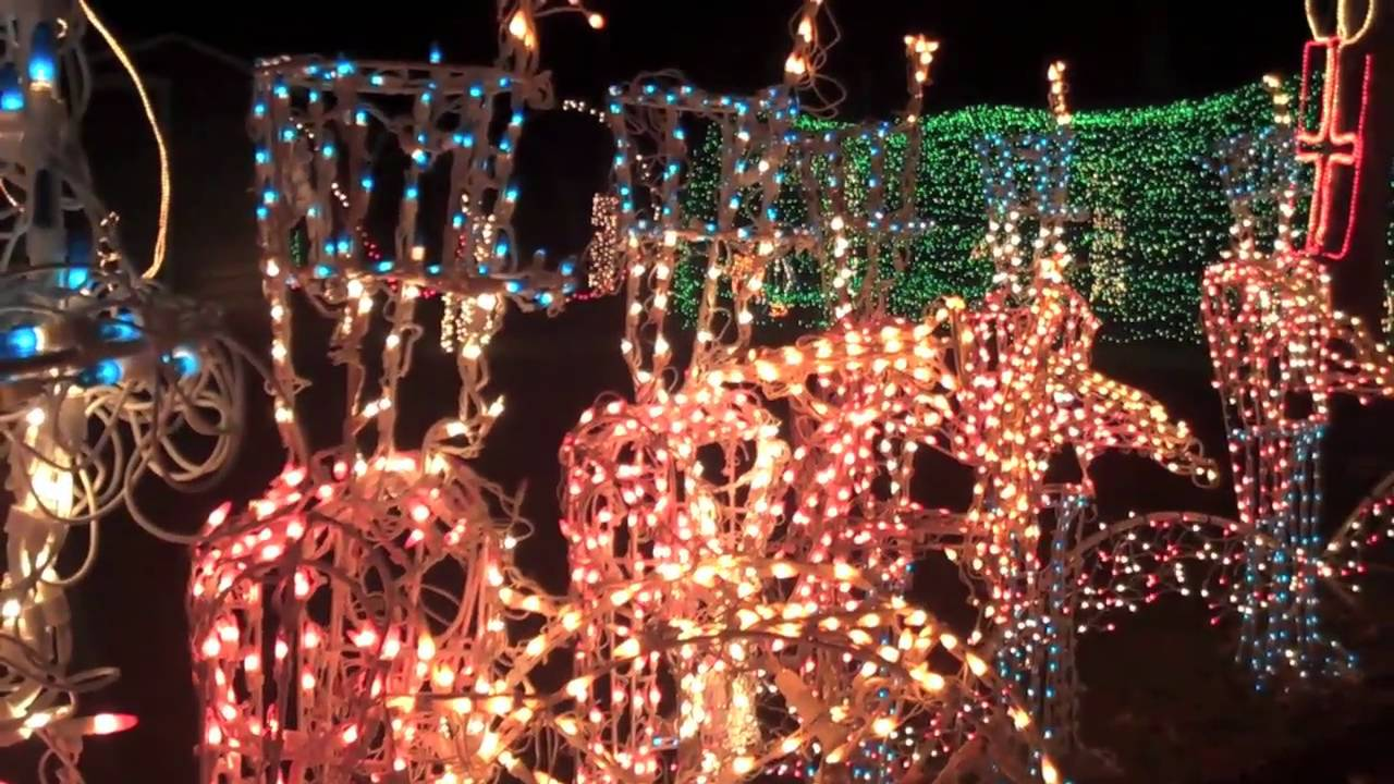Preview: Dickinson Festival of Lights - YouTube
