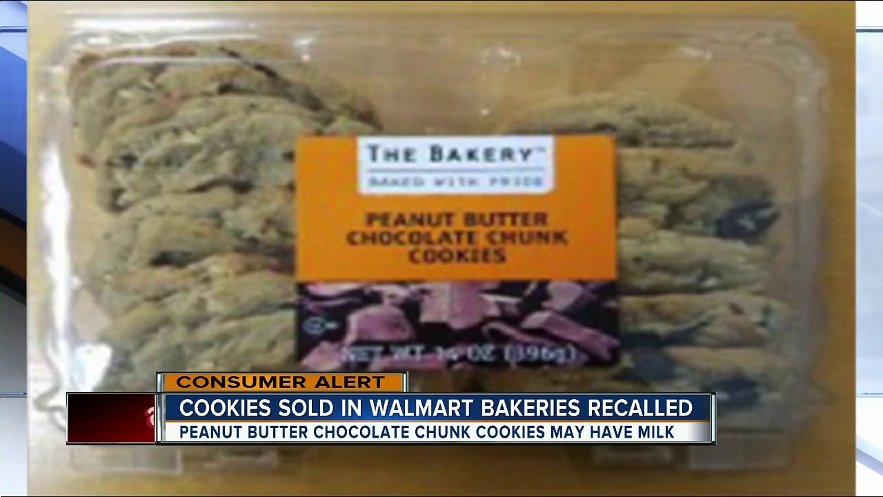 Cookies Sold In Walmart Bakeries Recalled Youtube