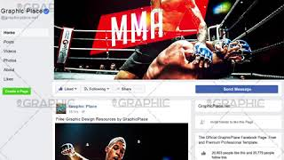 MMA Fight - Animated Flyer PSD Template for Facebook