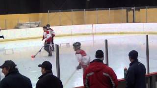 Nomadic Horde VS Ottawa Nationals CAN-AM Broomball Tournament 2015