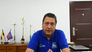 Tomás Diazgranados gerente del  Hospital Universitario Fernando Troconis