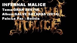 INFERNAL MALICE - Gran Bestia (2014) subtitulado