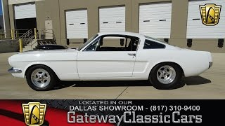 1965 Ford Mustang Fastback #295-DFW Gateway Classic Cars of Dallas