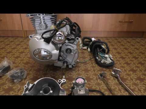 Новый мотор (двигатель) на мотороллер муравей  Для Авито. (avito)