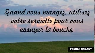 Learn The French Good Manners 66