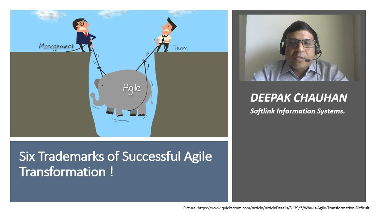 Six Trademarks of Successful Agile Transformation!