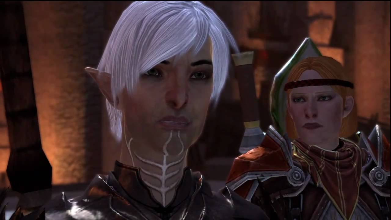 Spoilers Dragon Age 2 Fenris Siding With Mages All
