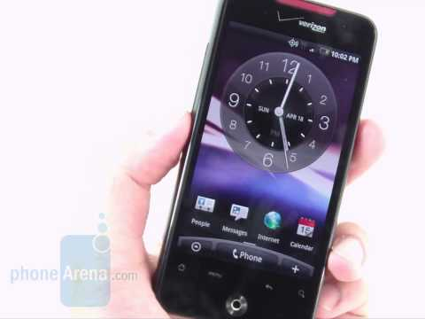 HTC Droid Incredible Review part 2
