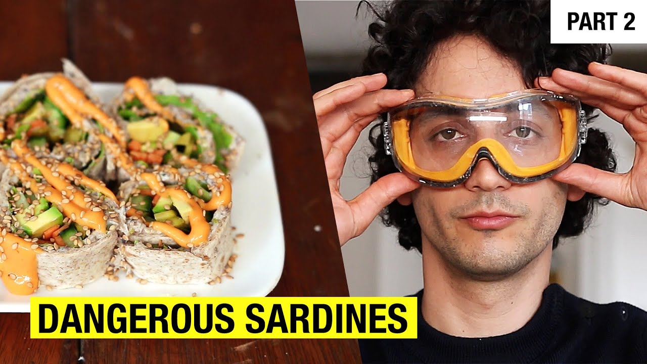 6 Creative Recipes Using 1 Can Of Sardines Part 2