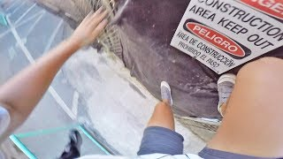 HAWAII: 47 STORY BUILDING CLIMB!! *ALMOST CAUGHT*