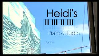 Heidi's Piano Studio Pop up video