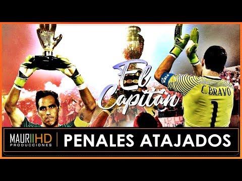 Claudio Bravo / Todos sus Penales Atajados / 2006 - 2018