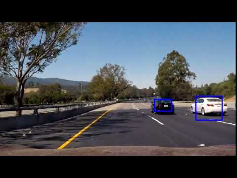 Vehicle detection : Processing each frame independently