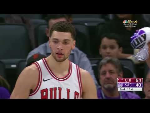 Bulls' Zach LaVine Destroys Kings' JaKarr Sampson With Poster Dunk