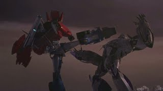 Transformers Prime : Episode 23 in Hindi | One Shall Fall (Optimus Vs Megatron)  Part 3/3 |