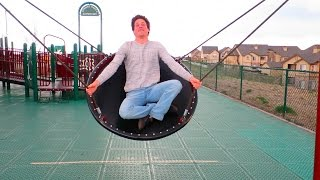 INCREDIBLE PLAYGROUND SWING!!