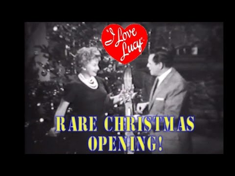 I Love Lucy-- Lucy/Desi Comedy Hour CHRISTMAS Opening!!-- LUCY GOES TO SUN VALLEY