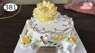 chocolate cake decorating bettercreme vanilla (381) Học Làm Bánh Kem Đơn Giản Đẹp - Sen  Vàng (381)