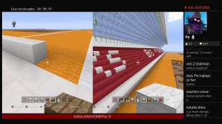 Minecraft Budujemy Stadion (część 2)| z LewBlowYT - Na żywo