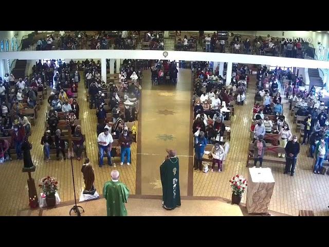 Santa Missa Dominical [28° Domingo do Tempo Comum ]-  10/10/2021